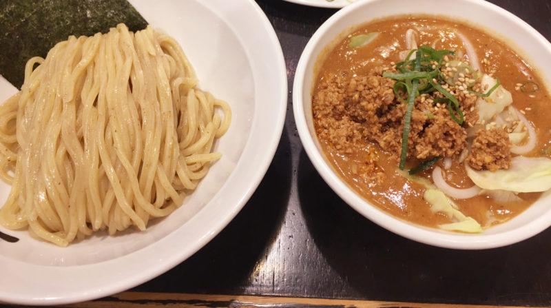 川口 津気屋 肉味噌野菜つけ麺