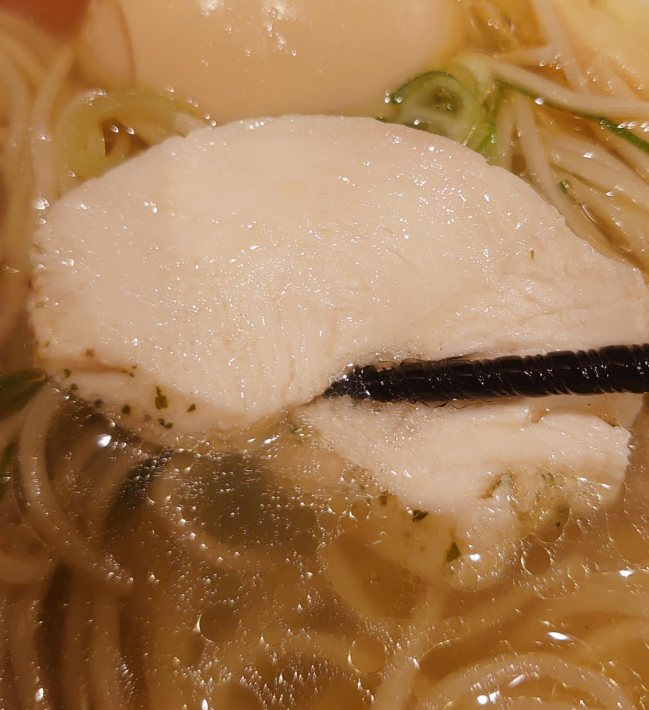 自家製麺 竜葵 塩そば+味玉