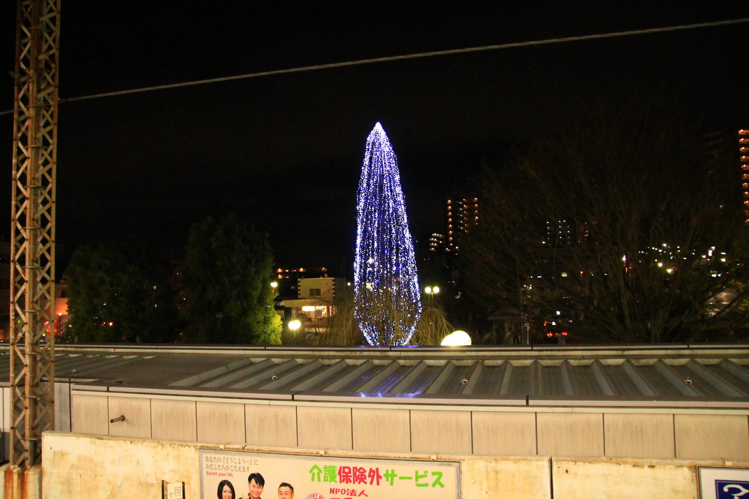 かわぐち光のファンタジー2020 東川口駅南口