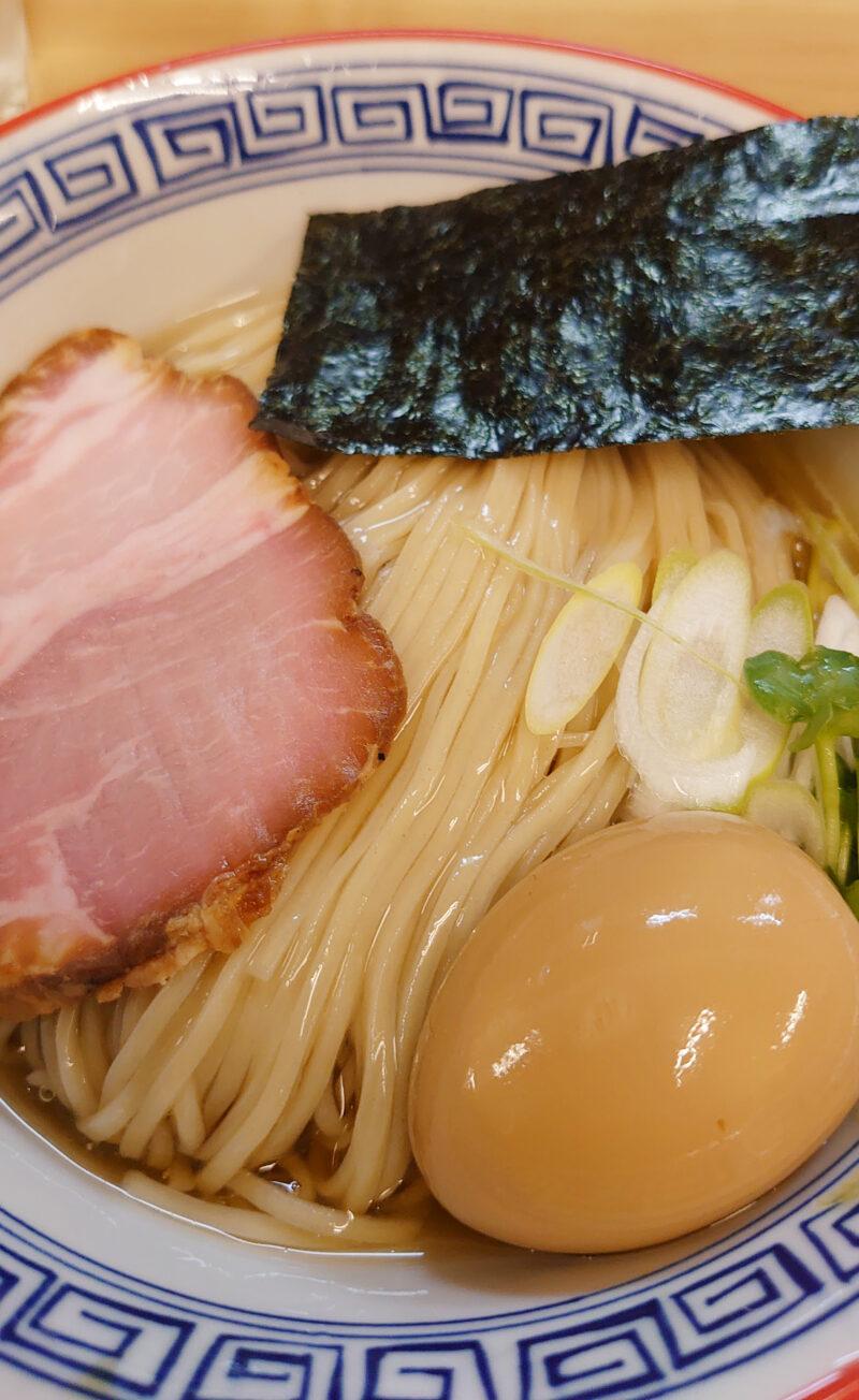 西川口 麺処 有彩の昆布水つけ麺(醤油)