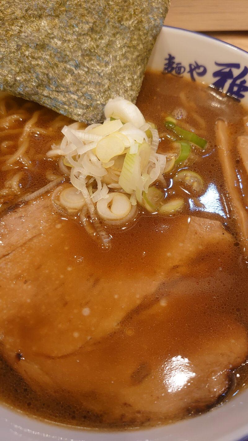 麺や雅川口店 焼醤油