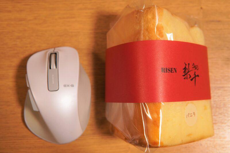 梨千 シフォンケーキ