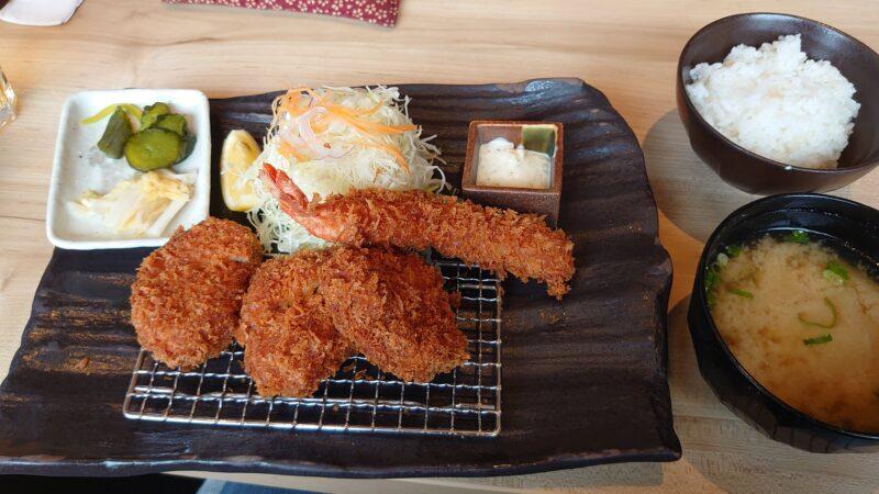 とんかつ神楽坂さくら 川口店 北海道つや姫豚のヒレかつ定食