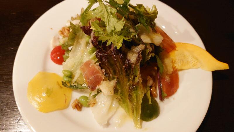 川口 スペイン料理 ネモ サラダ
