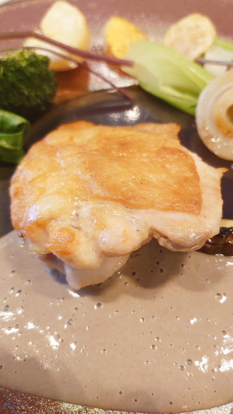 グルトン 川口 ランチ 信玄鶏のロースト