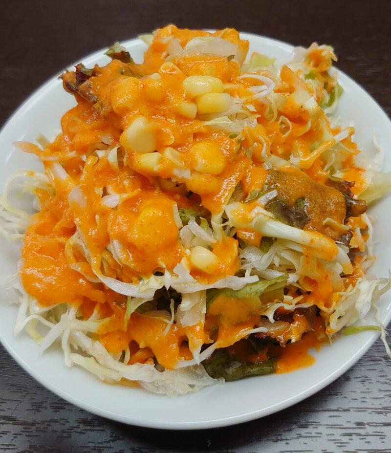 カレー店リハサ サラダ