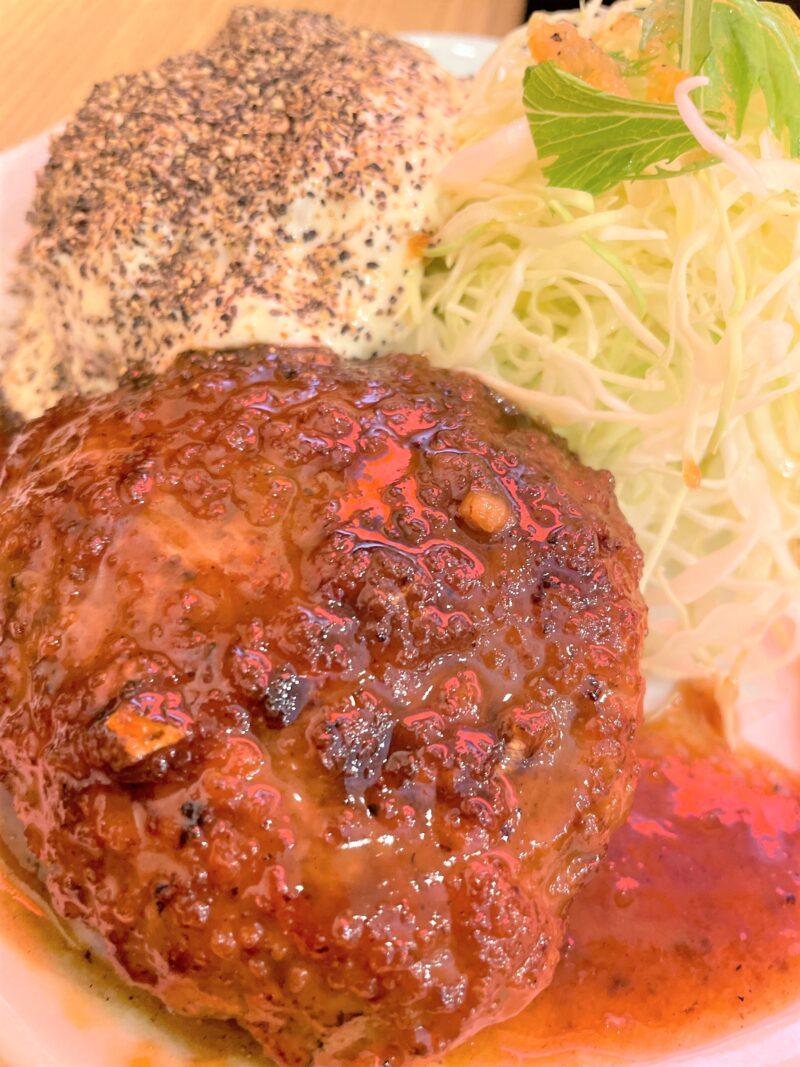 キッチンオニオン 川口 ハンバーグ