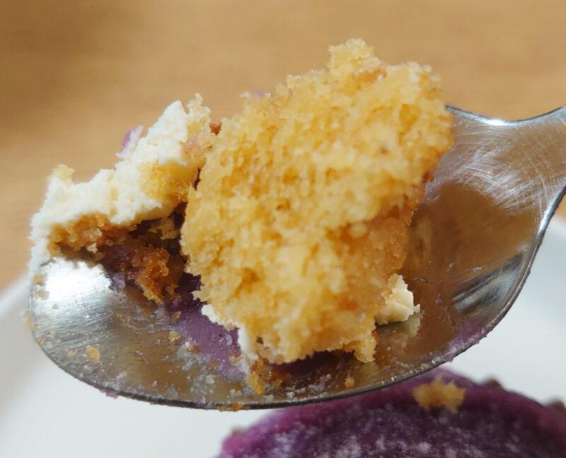 パティスリーサンヴェールの紫芋のモンブラン